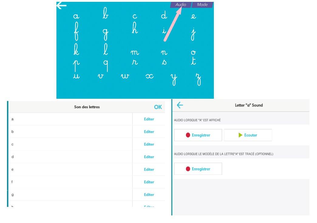 entrainement majuscule cursive
